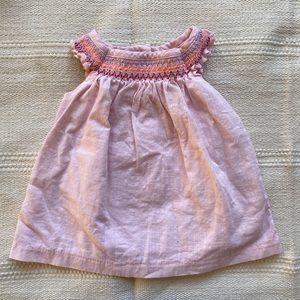 Gymboree   baby girl smocked dress